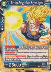 Bursting Energy Super Saiyan Vegito (Non-Foil Version) - P-014 - PR on Channel Fireball