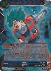 Rapid Onslaught Super Saiyan Blue Son Goku - P-022 - PR