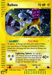 Raikou - H26/H32 - Holo Rare on Channel Fireball