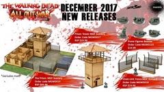 The Walking Dead Prison Scenery Set