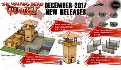 The Walking Dead Prone Figures Booster