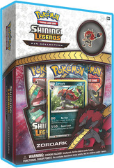 Shining Legends Zoroark Pin Collection Box