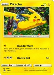 Pikachu - SM04 (Cereal Box Promo) - SM Black Star Promo