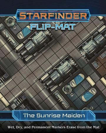 Starfinder Flip-Mat Starship The Sunrise Maiden