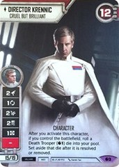 Director Krennic - Cruel But Brilliant (Alternate Full Art)