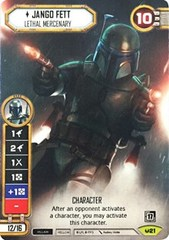Jango Fett - Lethal Mercenary (Alternate Full Art)