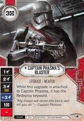 Captain Phasma's Blaster (With Die)