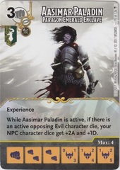 Aasimar Paladin - Paragon Emerald Enclave (Card Only)
