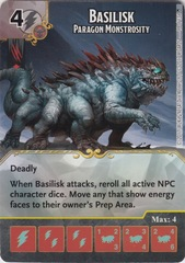Basilisk - Paragon Monstrosity - Foil - (Die and Card Combo)