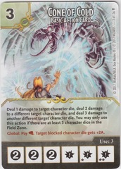 Cone of Cold - Basic Action Card (Card Only)