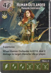 Human Outlander - Paragon Zhentarim (Die and Card Combo)