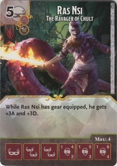 Ras Nsi - The Ravager of Chult (Die and Card Combo)