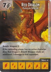 Red Dragon - Paragon Dragon (Die and Card Combo)