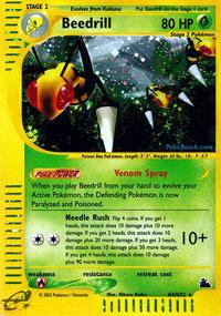 Beedrill - H4/H32 - Holo Rare