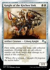 Knight of the Kitchen Sink (D) - Foil