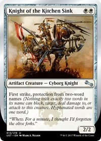 Knight of the Kitchen Sink (E) - Foil