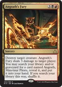 Angraths Fury - Planeswalker Deck Exclusive