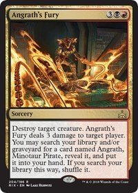 Angraths Fury - Planeswalker Deck Exclusive