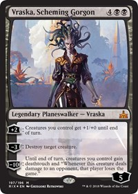 Vraska, Scheming Gorgon - Planeswalker Deck Exclusive
