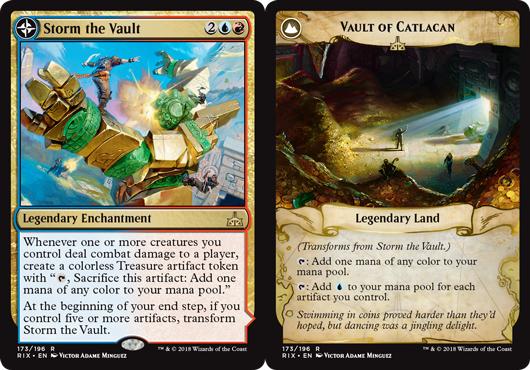Storm the Vault // Vault of Catlacan - Foil