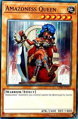 Amazoness Queen - OP06-EN025 - Common - Unlimited Edition