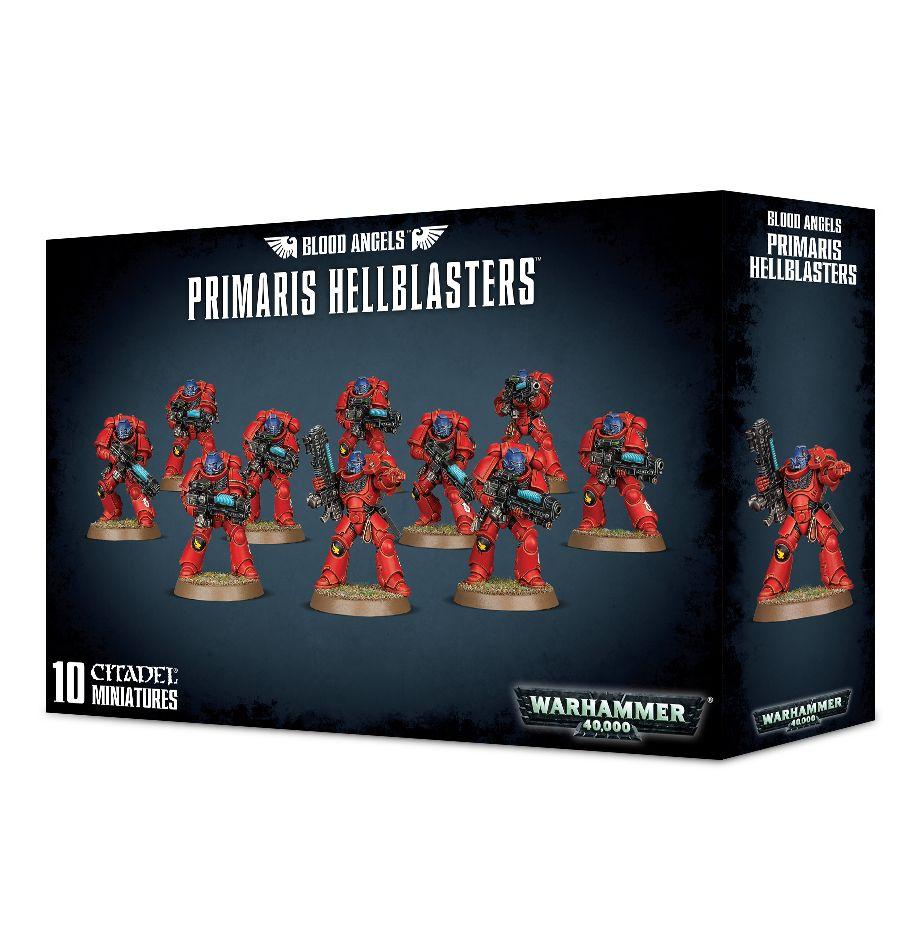 Blood Angels Hellblasters