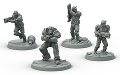 Fallout: Wasteland Warfare - Brotherhood Of Steel - Frontline Knights Set
