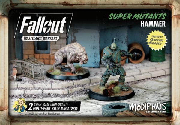 Fallout Super Mutants Hammer Set