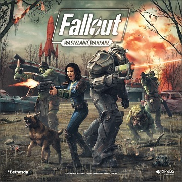 Fallout Wasteland Warfare 2 Player Core Set