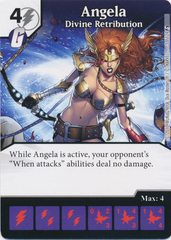 Angela - Divine Retribution (Card and Die Combo) Foil