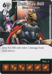 Beta Ray Bill - Stormbreaker (Die and Card Combo)
