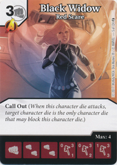 Black Widow - Red Scare (Die and Card Combo)