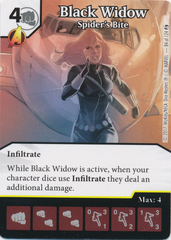 Black Widow - Spider's Bite (Die and Card Combo)