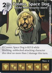 Cosmo, Space Dog - Bozhe Moi! Security Alert! (Die and Card Combo)