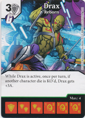 Drax - Reborn (Die and Card Combo)