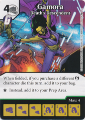 Gamora - Death's Descendent (Die and Card Combo)