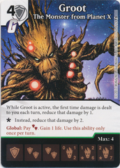 Groot - The Monster from Planet X (Die and Card Combo)