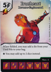 Ironheart - Reverse-Engineered (Die and Card Combo)