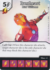Ironheart - Riri Williams (Die and Card Combo)