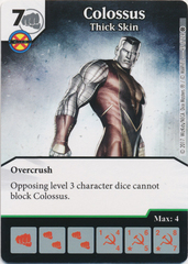 Colossus - Thick Skin (Die and Card Combo)