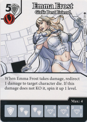 Emma Frost - Girl's Best Friend (Card and Die Combo) Foil