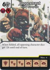 Juggernaut - Ruby Rampage (Die and Card Combo)