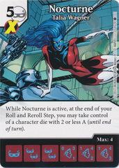 Nocturne - Talia Wagner (Die and Card Combo)