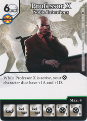 Professor X - Noble Intentions (Die and Card Combo)