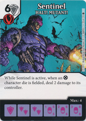 Sentinel - HALT! MUTANT! (Die and Card Combo)