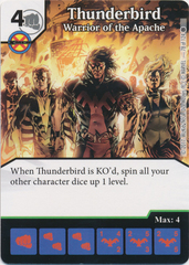 Thunderbird - Warrior of the Apache (Die and Card Combo)