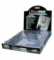 Ultra Pro - Platinum Series - 9-Pocket Hologram (Display Box) (100 pages)