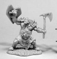 Orc Slayer (Axe & Shield)