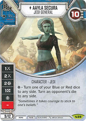 Aayla Secura - Jedi General (Sold with Matching Die)