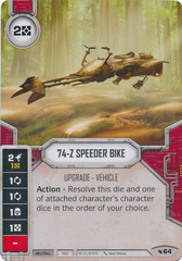 74-Z Speeder Bike (Sold with Matching Die)